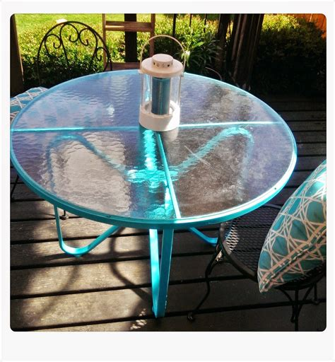 Patio Table Paint Meg Made Creations Spray Paint Patio Table From Rust