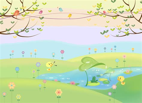 Bedroom Ls For Toddlers Buy Childrens Flowers And Meadow Murals Wallpaper