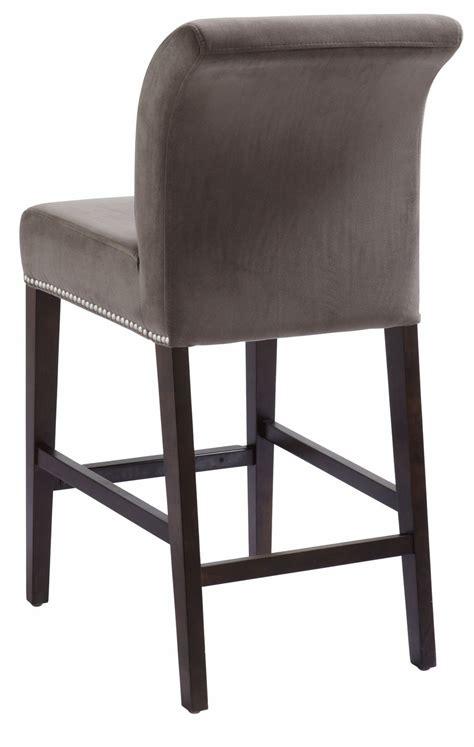 Gray Fabric Counter Stools by Prado Grey Fabric Counter Stool From Sunpan 20678
