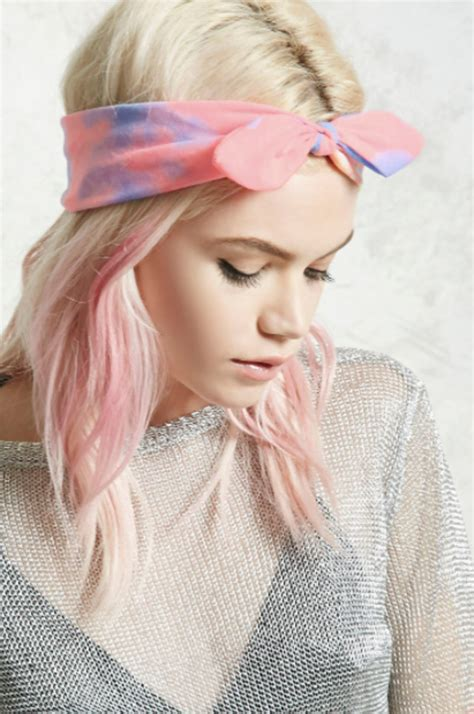 Bold Tie Turban Tie Dye Series how to wrap a headscarf wheretoget