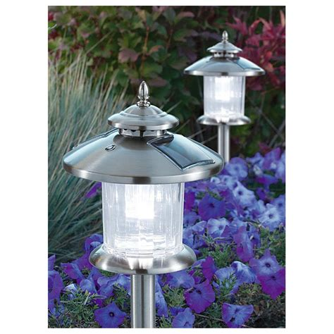Westinghouse Outdoor Lighting 8 Pk Of Westinghouse 174 Norton Solar Lights 302517 Solar Outdoor Lighting At Sportsman S Guide
