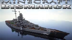 Make A Blueprint For Free minecraft battleship bismarck youtube