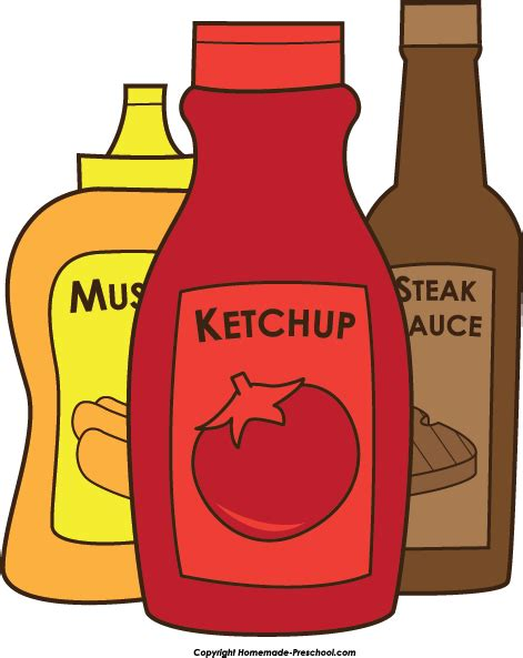 ketchup clipart mustard and ketchup clipart clipart suggest
