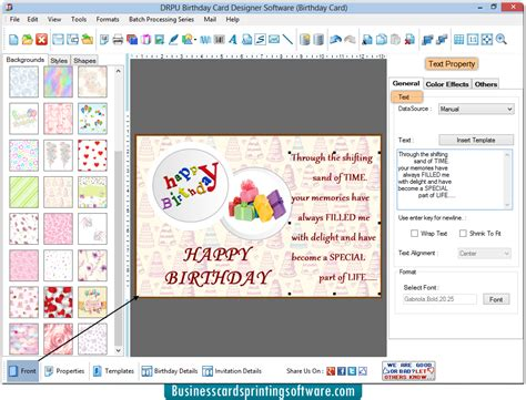 id card design software for mac birthday cards design software screenshots to create