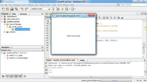 javafx text layout java buddy javafx exercise display text on scene