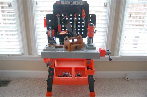 black and decker jr tool bench black decker junior power tool workshop 39 99 on black