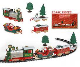 musical christmas train and carriages christmas tree train