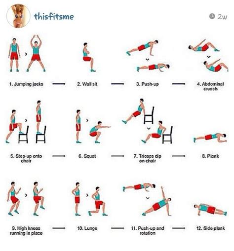 17 best images about at home exercises on