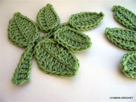 crochet pattern large leaf crochet flowers and leaves pattern www imgkid com the