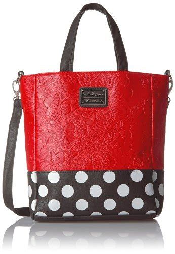 minnie mouse coach outlet loungefly embossed leather minnie mouse purse
