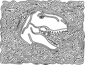 favors dinosaur printable maze brody maze worksheets
