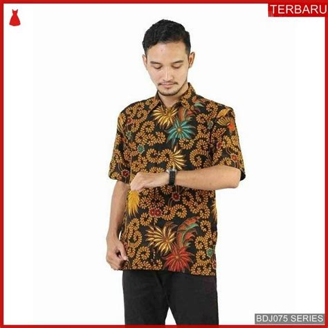 bdjk kemeja batik  terbaru shirts mens tops