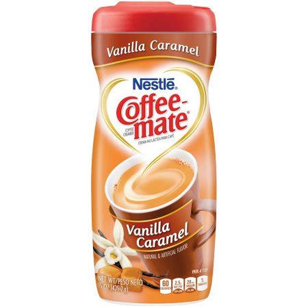 Coffee Caramel Powder Drink 1 nestle coffeemate vanilla caramel powder coffee creamer 15 oz canister walmart