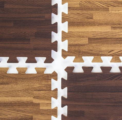 cherry dark oak wood grain floor mats mix match