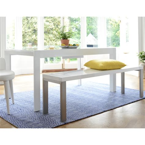 white dining table extending gloss dining table white dwell