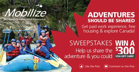 contest 2015 us mobilize sweepstakes quot adventures should be shared quot mobilize