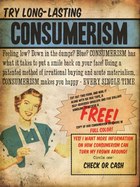 truth consumerism an obsession