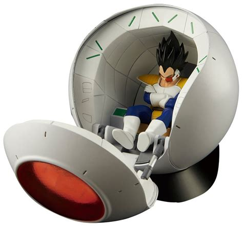 Figure Rise Mechanics Saiyan Space Pod the best of z toys vegeta edition i these figures