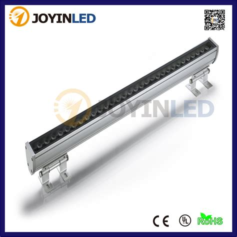 Outdoor Led Light Bar Aliexpress Buy White Yellow Blue Green Rgb 85 260v 36w Led Wall Washer L Waterproof