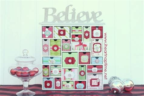 how to make a advent calendar ideas tons of handmade ideas decor gifts and recipes