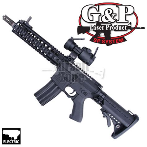 Airsoftgun Aeg Gnp M4 Lmt m4 lmt tactical rifle with dot sight aeg g p
