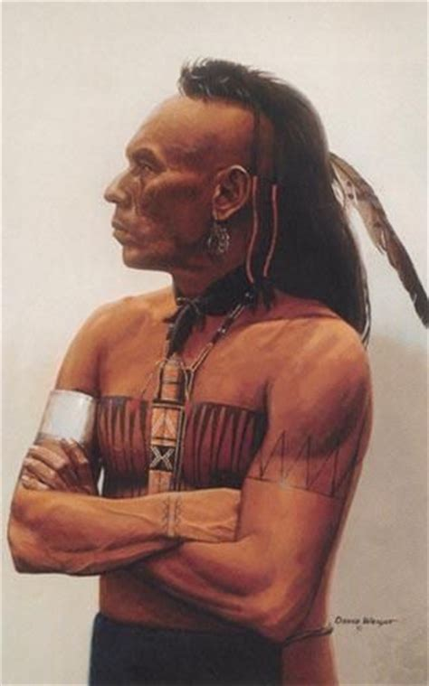 mohawk indian tribal tattoos warriors huron indian tribe