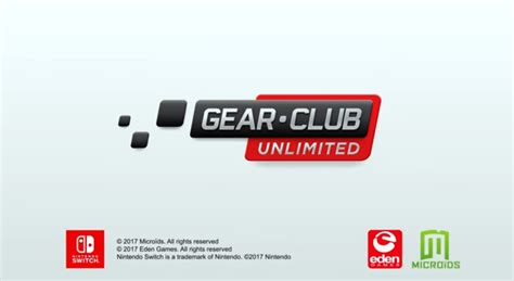 club nintendo mobile microids announces gear club unlimited on nintendo switch