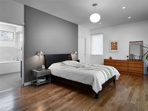 bedroom with gray walls 24 fall interior design trends