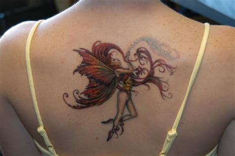 fairy back tattoo designs tattoos for que la historia me juzgue
