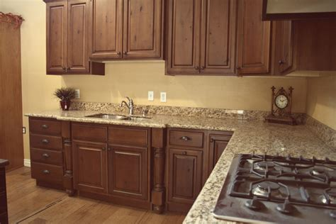 Kitchen Cabinet Stain Ideas by Dark Glazed Rta Cabinets Knotty Alder Cabinets