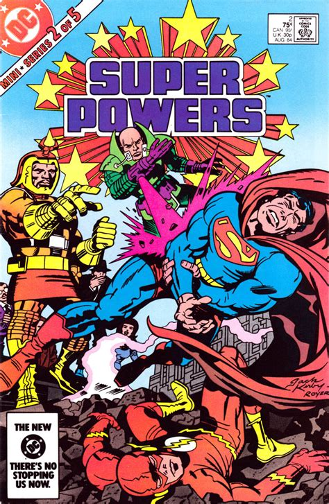 powers by kirby powers 2 1984 kirby comics weblog