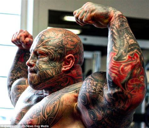 weightlifting tattoos weightlifter jens dalsgaard has 40 tattoos and