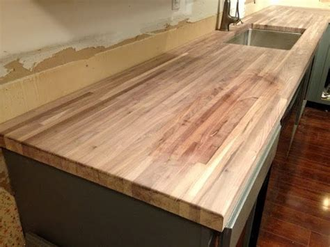 wax on butcher block countertop treatment the