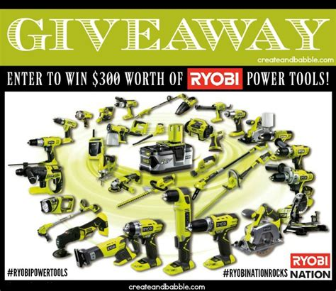 Tool Giveaway 2017 - building a farmhouse bed ryobi power tool giveaway