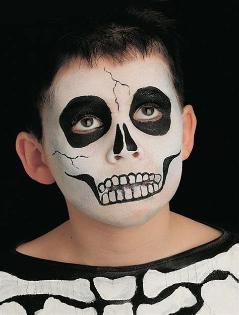 skeleton face paint goodtoknow