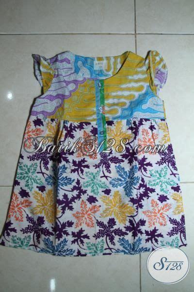 Batik Anak Kemeja Batik Anak Umur 2 Tahun sedia batik anak cewek model terbaru baju batik anak tanpa lengan proses cap dan print khus