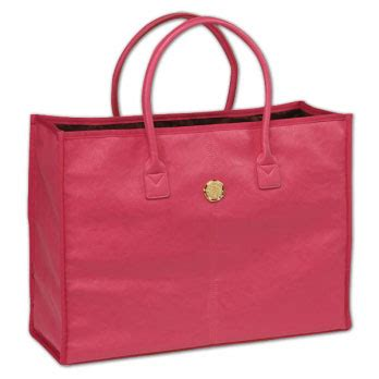 Tote Bag 549 pink solid fabric tote bag paperstyle