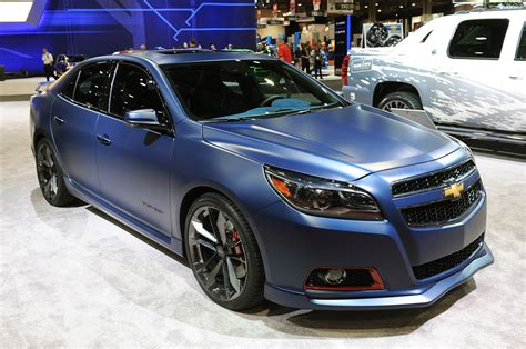 custom chevy malibu chevy malibu turbo performance concept is hotted up for