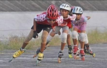 Sepatu Roda Atlet 400 Atlet Berpacu Di Kejurnas Sepatu Roda Bupati Cup