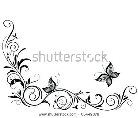 pattern wedding vector corner scroll stock images royalty free images vectors