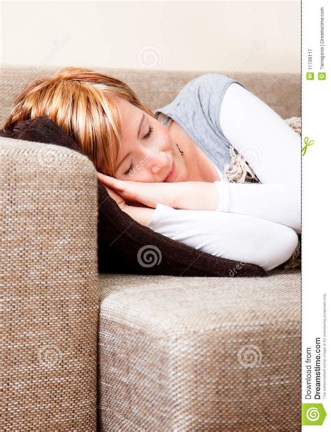 sleep in the couch sleep couch royalty free stock photography image 11706117