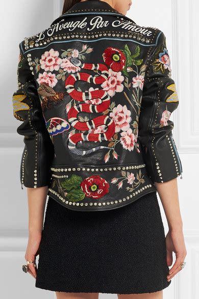 Afi Ss Astetic Blouse Limited Gucci Embellished Leather Biker Jacket Net A Porter