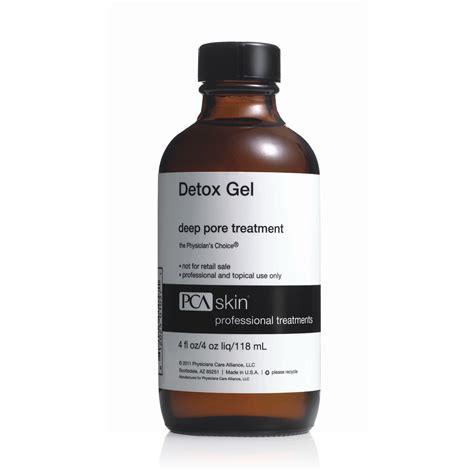 Detox Gel Pore Treatment Directions by Bio Estetic Innovation Linia Peel