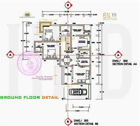 sq ft details free floor plan of 2160 sq feet house kerala home design