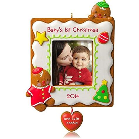 hallmark baby s 1st ornaments hallmark 2014 baby s 1st one cookie photo