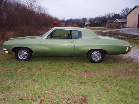 1970 chevy impala 2 door 1970 chevrolet impala custom 2 door hardtop 45625