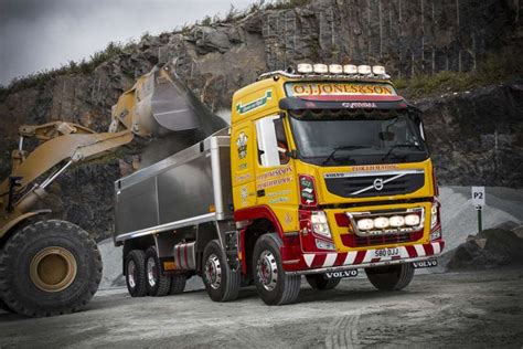 volvo fm  north wales tipper firm agg net