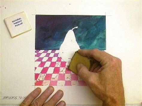 watercolor tutorial techniques watercolor technique using masking fluid aka liquid frisket