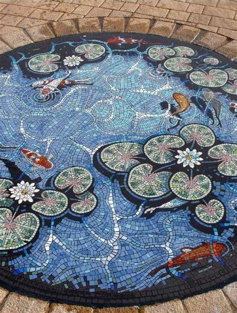 mosaic koi pattern koi pond decoration mosaic design mosaic pinterest