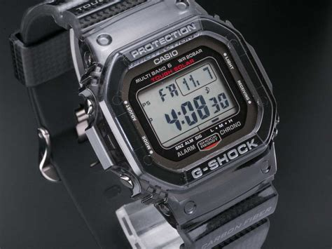 Casio G Shock Dw 5600 Kw Pink g shock gw s5600 1jf carbon fiber insert band multi band 6